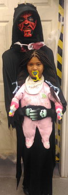 Baby Abduction Halloween Costume