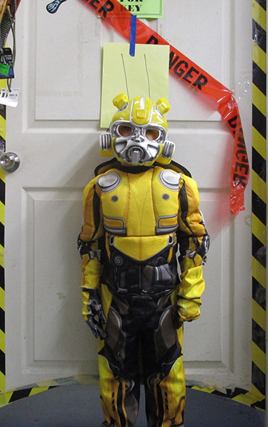 Bumble Bee from Transformers Halloween Costume