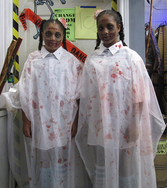 Twin Murderers Halloween Costume